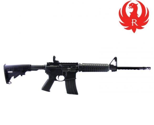 "Ruger Ruger AR-556 223/556 16"" Medium Heavy Barrel Carbine, Semi Auto Rifle"