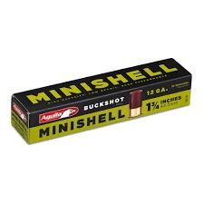 Aguila Aguila Minishell 12 Gauge Buckshot 4B (7p) 1B (4p) Box Of 20