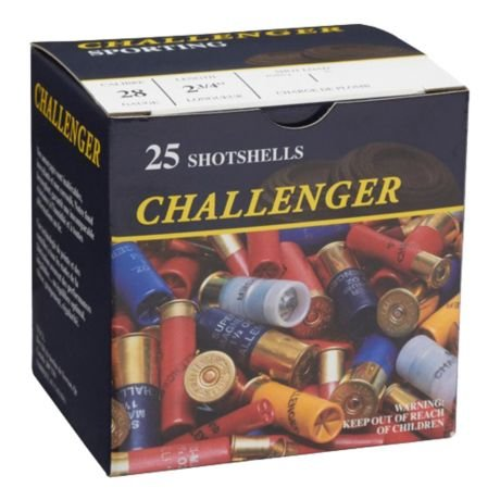 Challenger Ammunition Challenger 28Ga, 7.5 3/4 oz, Target Load Box of 25