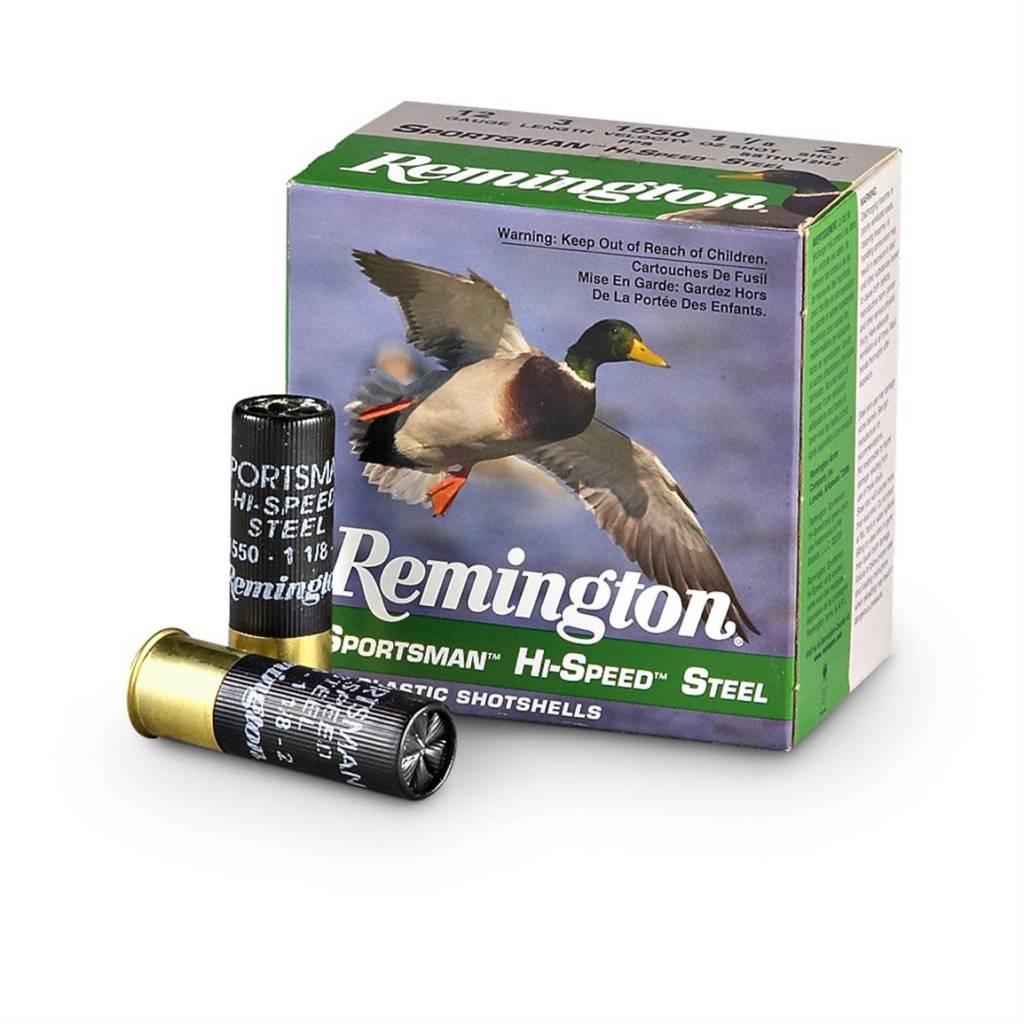 """Remington Remington 12 Gauge Sportsman Hi-Speed Steel 2 3/4"""" 7 shot Box Of 25"""