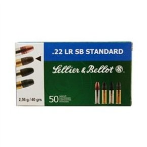 Sellier & Bellot SALE - Sellier & Bellot .22 LR SB Standard 40 Grain Box Of 50