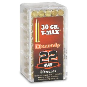 Hornady SALE! Hornady 22 Mag 30 Grain V-Max Box Of 50
