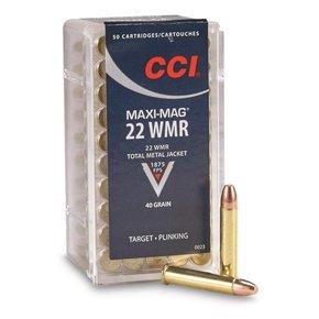 CCI CCI 22 Mag 40 Grain Maxi-Mag Box Of 50