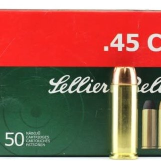 Sellier & Bellot Sellier and Bellot 45 Long Colt 230 Grain Box Of 50