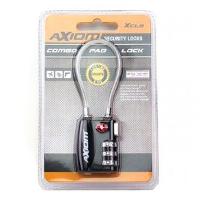 Axiom Combination Pad Lock XCL9