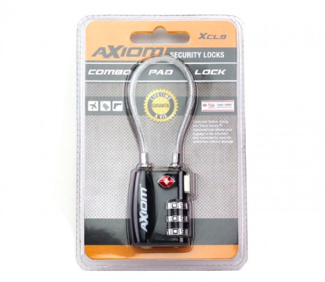 Axiom Combination Pad Lock XCL9