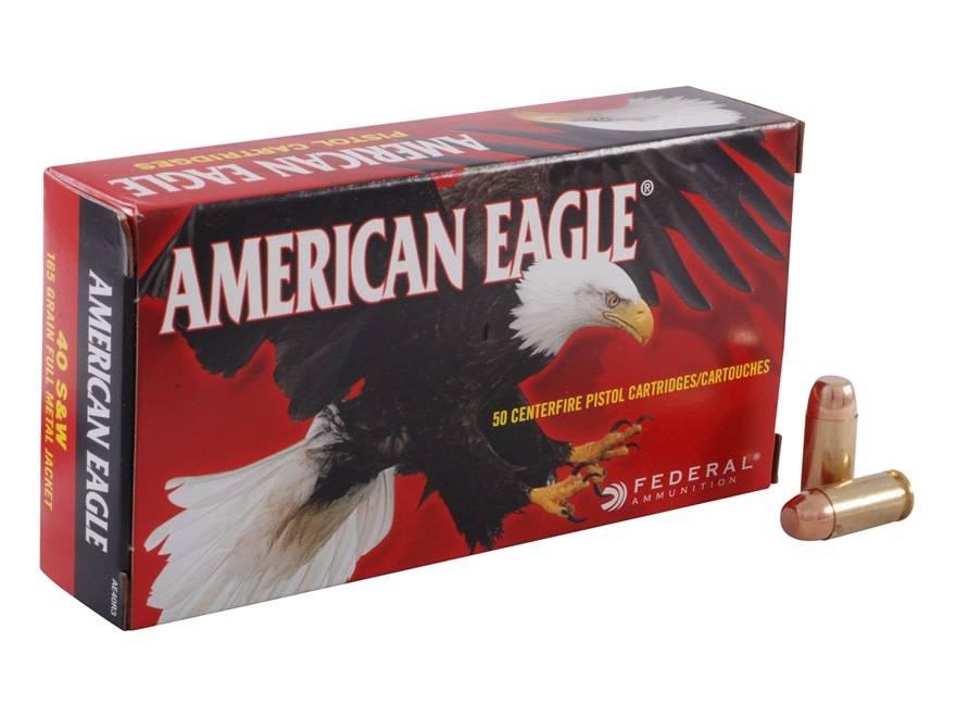 American Eagle American Eagle .40 S&W 165 Grain Box Of 50