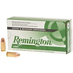 Remington Remington UMC 9MM 147 Grain FMJ Box Of 50