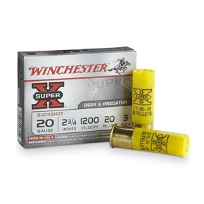"Winchester Winchester 20 Gauge 2 3/4"" 3 Buck Box of 5"