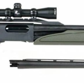 Remington Remington 12g Model 870 Express Synthetic Pump-Action Shotgun Package – 2-7x32mm Scope