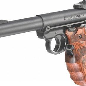 Ruger SALE! Ruger Mark IV Target Pistol Laminated Grip (MA) 22LR Blued Target