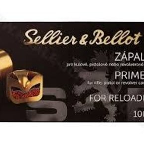 Sellier & Bellot Seiller and Bellot Large Pistol Primers 1000 Pack