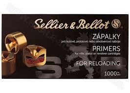 Sellier & Bellot Seiller and Bellot Large Pistol Primers 1000 Pack