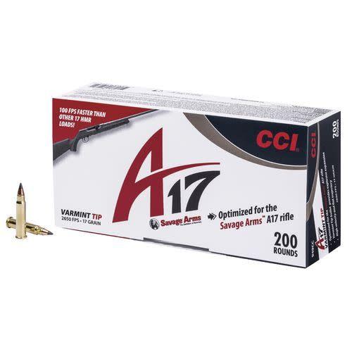 CCI CCI A17 Varmint Tip 17HMR 200 Round Pack