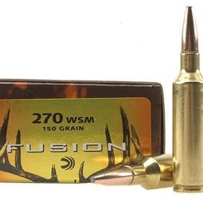 Federal Ammunition Federal Fusion 270 WSM 150 Grain