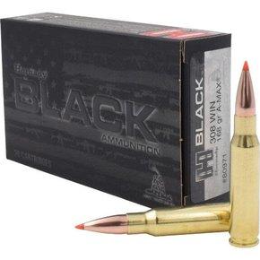 Hornady Hornady Black 308 WIN 168 Grain A-MAX Box of 20