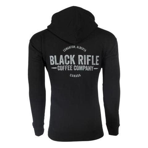 Black Rifle Coffee BRCC - CANADA HOODIE - PULL OVER - LARGE