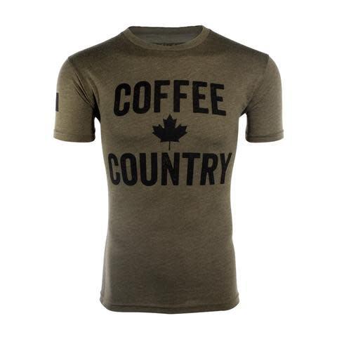 Black Rifle Coffee BRCC - COFFEE COUNTRY SHIRT - X-LARGE