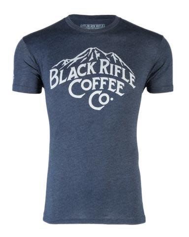 Black Rifle Coffee BRCC MOUNTAINS SHIRT-BLUE - LARGE