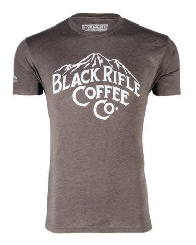 Black Rifle Coffee BRCC MOUNTAINS SHIRT- ESPRESSO - LARGE