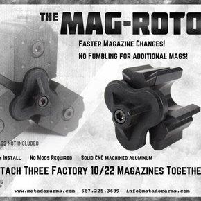 Matador Arms Corp MAG-ROTOR - RUGER 10/22 MAGAZINE CLAMP