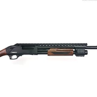 "Canuck Canuck Renegade Pump Action Shotgun, 12 Gauge, 3"", 14"" Barrel, 3 Mobile Chokes, Breecher Choke, Synthetic Raptor Grip and Fixed Stock Included"