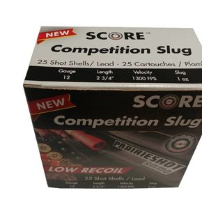 Score 12 g. Competition Slug