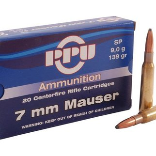 PPU PPU 7mm Mauser SP 139gr Box of 20