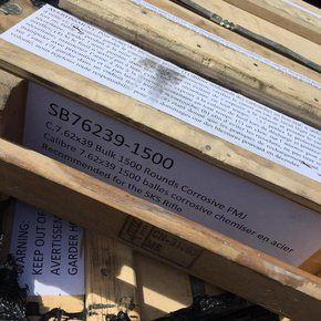 SALE! Crate 7.62x39 Surplus 1500rds (Corrosive)