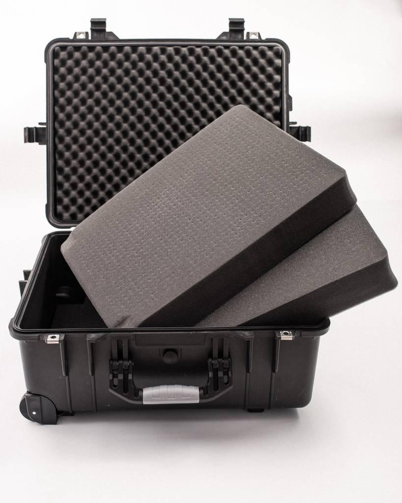 """Black Bear Gear BLACK BEAR GEAR, 22"""" HARD CASE (with foam/wheels/handle)"""