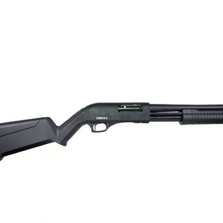 "Canuck Canuck Regulator/Defender Pump Shotgun Combo, Synthetic - 12GA, 2-3/4"" or 3"", 14"" Barrel, 5 Shot"