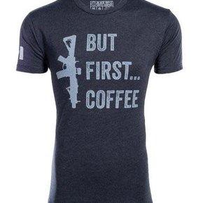 BRCC BUT FIRST COFFEE SHIRT - X-LARGE