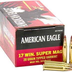 Federal Ammunition American Eagle 17 Win Super Mag