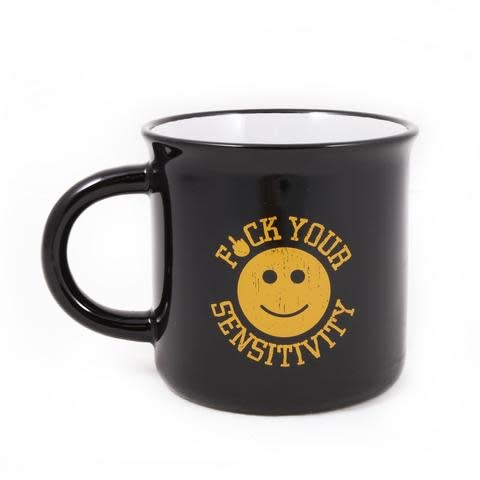 Black Rifle Coffee BRCC F*CK YOUR SENSITIVITY CERAMIC MUG