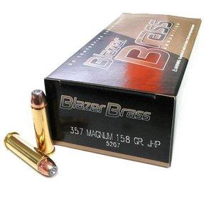 Blazer (CCI) CCI Blazer Brass 357 Mag 158gr JHP