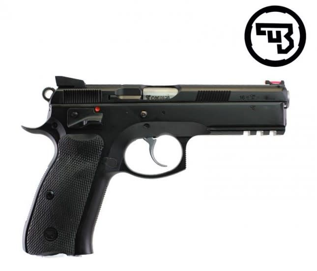 CZ 75 SP-01 Shadow, 9mm, 4 5