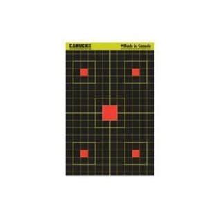 Canuck Canuck Reactive Targets 12x18 25 Sight In Target