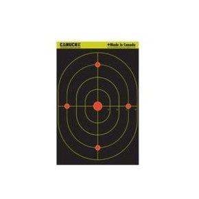 Canuck Canuck Reactive Targets 12x18 10 Bullseye Target