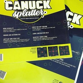 Canuck Canuck Reactive Targets 12x18 Mixed Pack 24