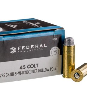 Federal Ammunition Federal 45 Colt 225gr Lead SWHP