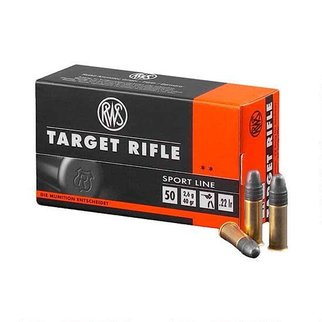 RWS 22LR Target Rifle 50 per box