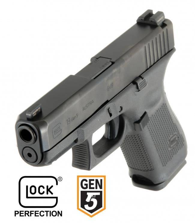 Glock Glock 17 Gen 5 9mm w/Ameriglo Night Sights