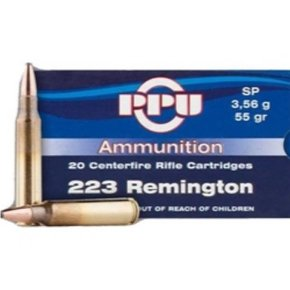 PPU Prvi Partizan 223 Remington 55 Grain Soft Point