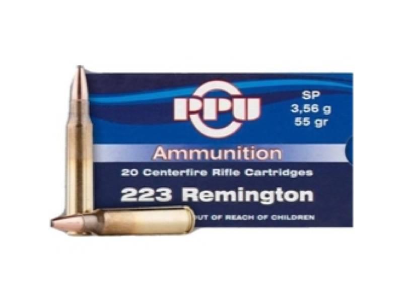 PPU Prvi Partizan 223 Remington 55 Grain Soft Point