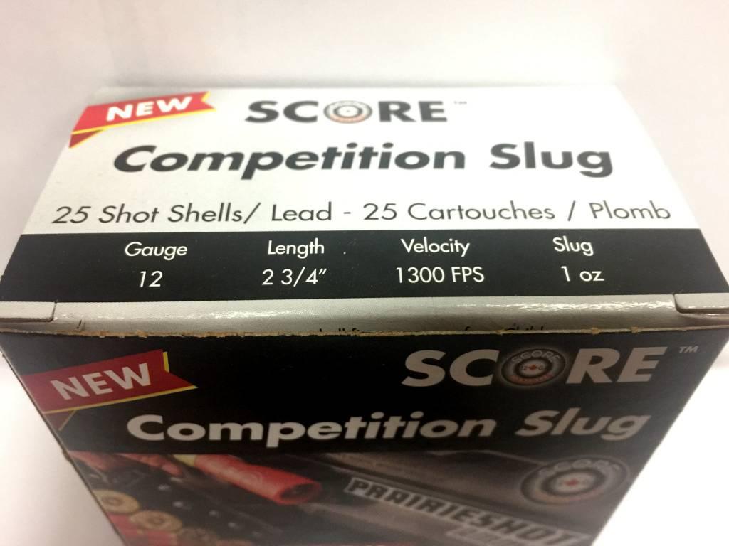 Score 12 g. Competition Slug