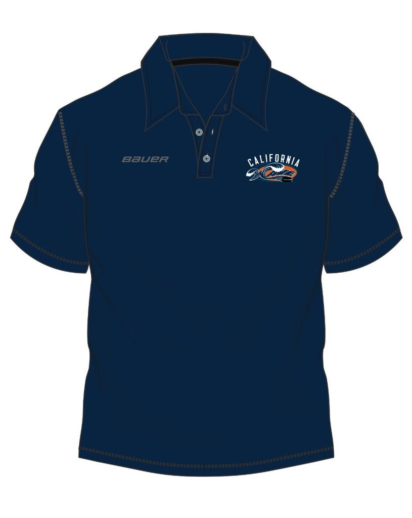 Pro Shop Wave Polo Navy