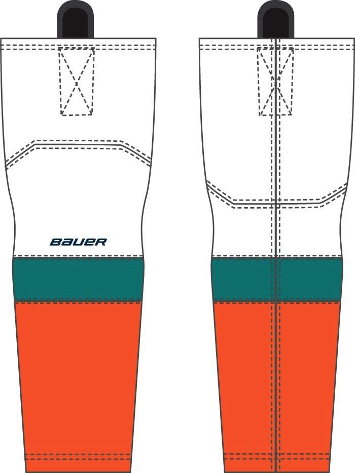 Pro Shop Wave Home Game Socks White