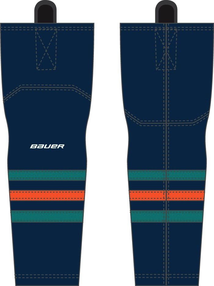 Pro Shop Wave Away Game Socks Navy