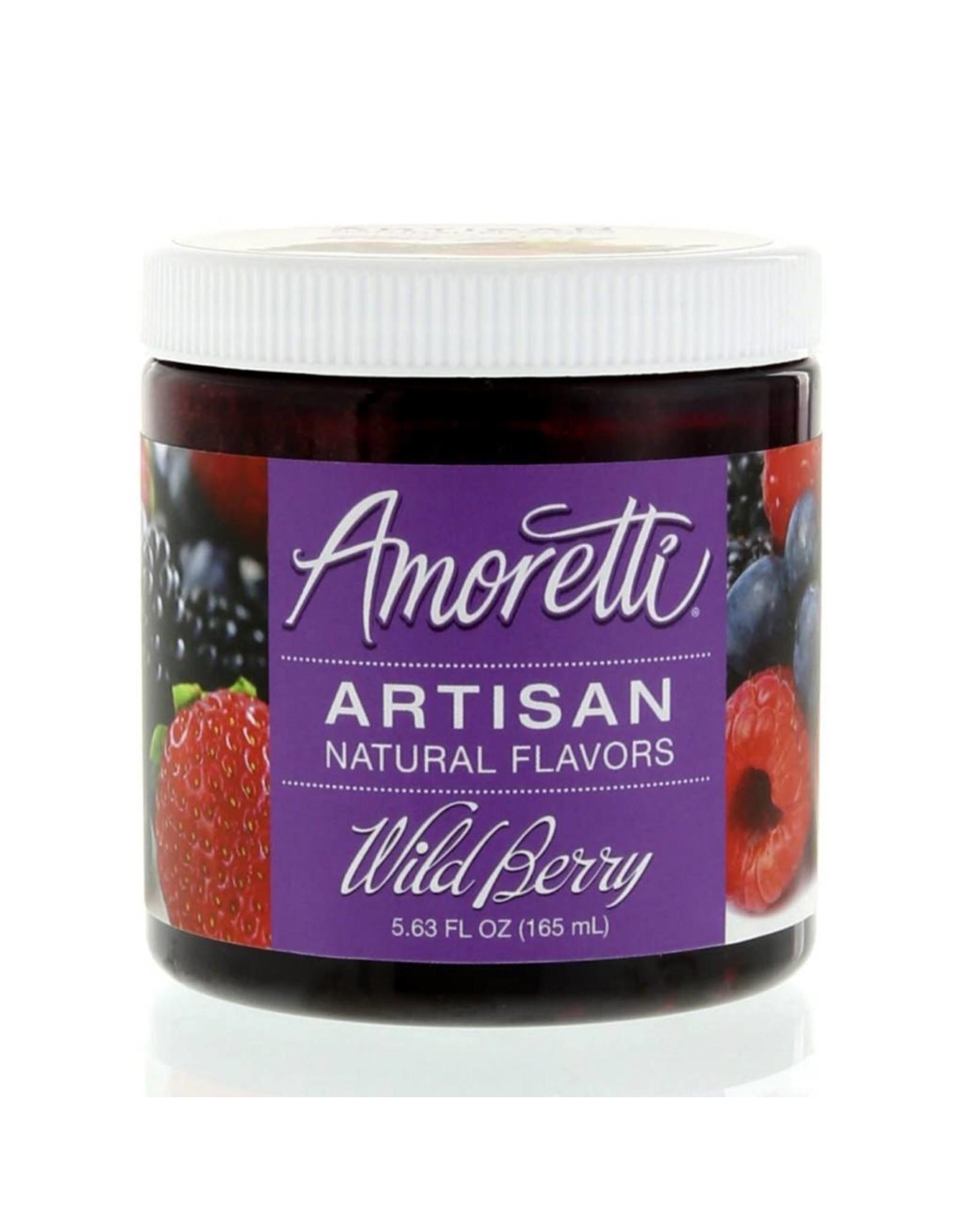 Amoretti Artisan Wild Berry Flavor 4oz