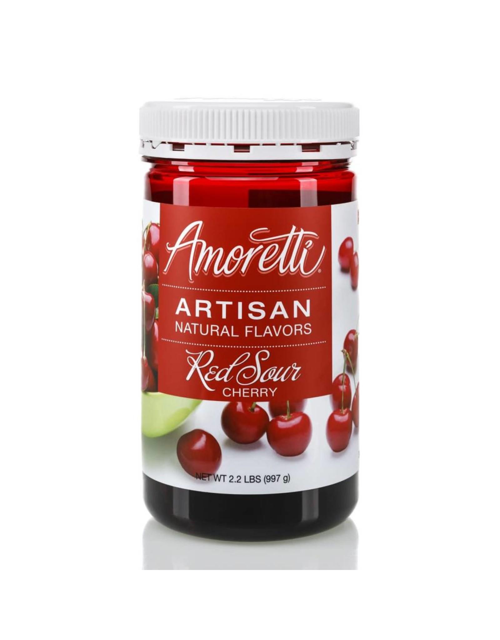 Amoretti Artisan Sour Cherry Flavor 4oz